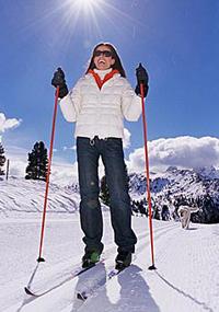 Сходить на лыжах