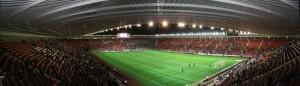Стадион в городе Саутгемптон