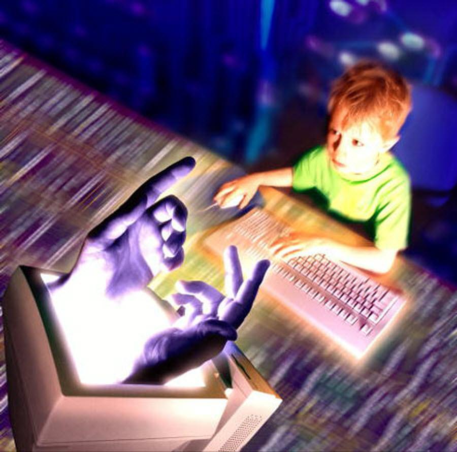 Детское увлечение компьютерными играми2
