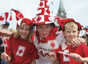 Канадские туристы
