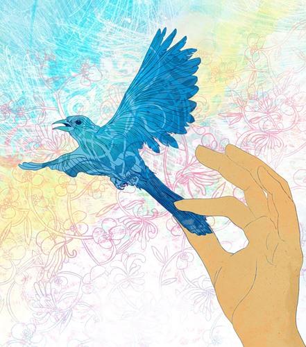 Зерна для синей птицы или как заманить удачу