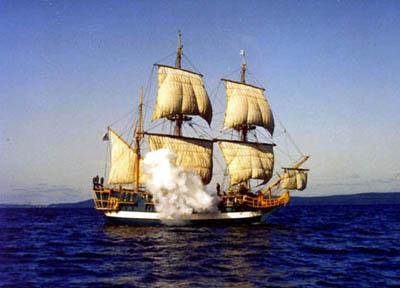 200 летнее судно в Мексике