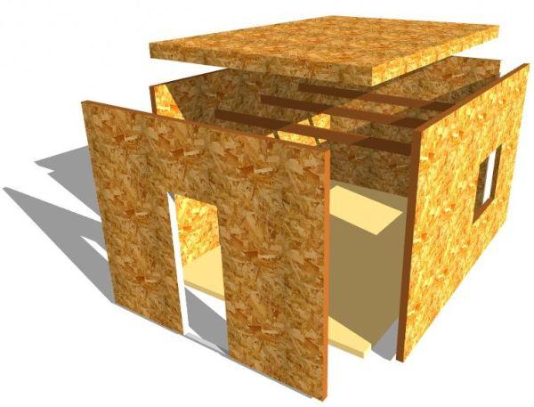 ОСБ плита: особенности и области использования материала