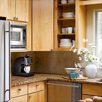 Практичное и красивое решение для кухни