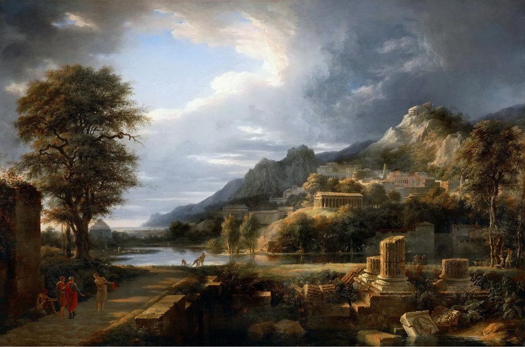 Пейзаж - один из почитаемых жанров искусства