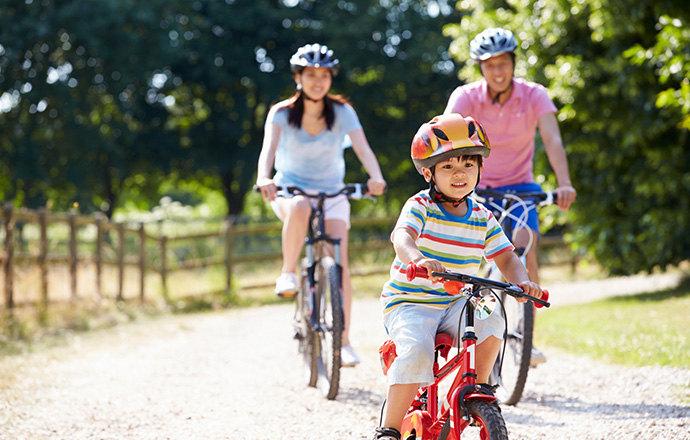 Как велосипед может улучшить здоровье вам и вашему ребенку?
