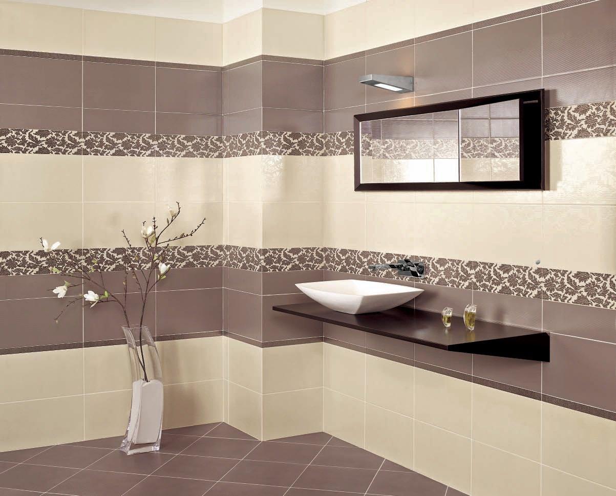 Идеальный вариант для облицовки ванной –  керамическая плитка